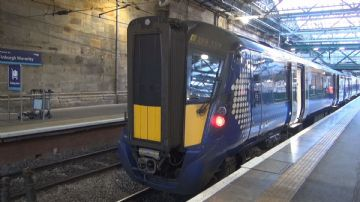 15.  Glasgow Queen Street - Edinburgh Waverley - Dunbar & return abd North Berwick Branch